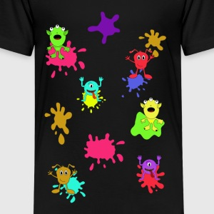 Monsters - Kind - Kinder Premium T-Shirt