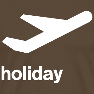 departure icon Holiday T-Shirts - Men's Premium T-Shirt