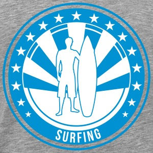 Surfing / Surfer / Beach / Sea / Surf / Sun / Fun T-Shirts - Men's Premium T-Shirt