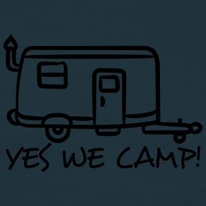campo , campeggio , camping, caravan , trekking, E T-shirts - Mannen T-shirt