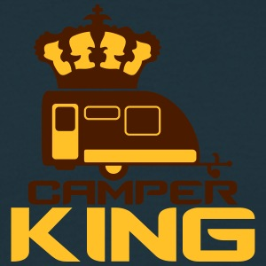 Camper Trailer Camper King King Queen Crown T-skjorter - T-skjorte for menn