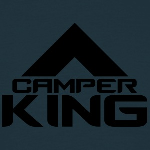 Camper Tent King Logo T-Shirts - Men's T-Shirt