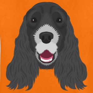 Black Cocker Spaniel  - Teenage Premium T-Shirt