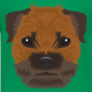 Border Terrier  - Teenage Premium T-Shirt
