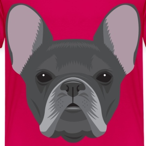 Black French Bulldog - Kids' Premium T-Shirt