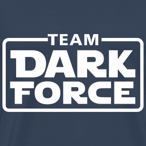Team dark force T-shirts - Herre premium T-shirt