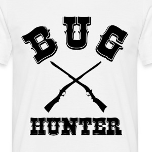 BUG HUNTER - White Western Style Test Engineer Tee - Männer T-Shirt