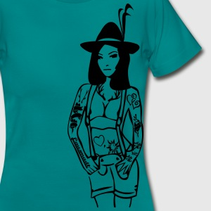 tatto Lederhose Tracht T-Shirts - Frauen T-Shirt