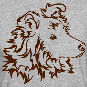 Langhaar-Collie T-Shirts - Frauen Bio-T-Shirt