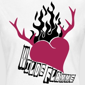 wilde Flamme Tracht T-Shirts - Frauen T-Shirt