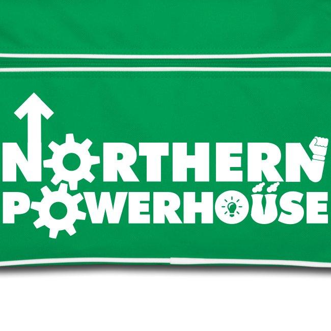 Northern Powerhouse Retro Bag - Green