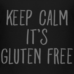 Keep Calm It's Gluten Free Skjorter - Premium T-skjorte for tenåringer