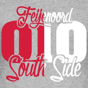 010_south_side_feijenoord_kleur T-shirts - slim fit T-shirt