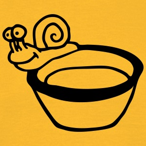 snail soup - Men's T-Shirt