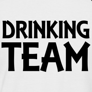 Drinking Team Tee shirts - T-shirt baseball manches courtes Homme