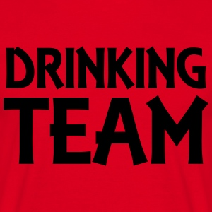 Drinking Team T-skjorter - T-skjorte for menn