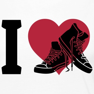 I love sneakers Long Sleeve Shirts - Women's Premium Longsleeve Shirt