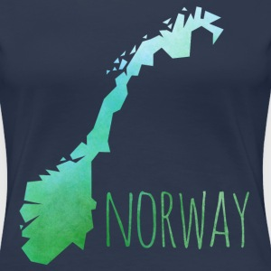 norway T-Shirts - Frauen Premium T-Shirt