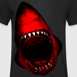 requin Attaque - T-shirt Homme col V