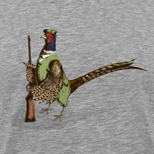 Pheasant Hunter T-Shirts - Men's Premium T-Shirt
