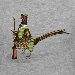 Pheasant Hunter Long Sleeve Shirts - Women's Premium Longsleeve Shirt