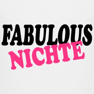 Fabulous nichte 111 T-shirts - Teenager premium T-shirt