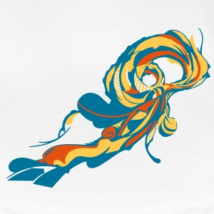 waves_VVV T-Shirts - Frauen Premium T-Shirt