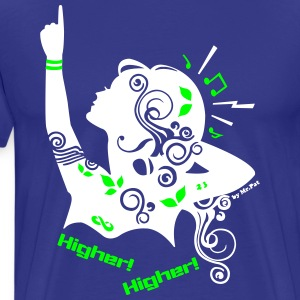 Higher T-Shirts - Men's Premium T-Shirt