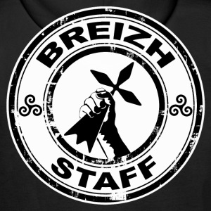 Breizh Staff Sweat-shirts - Sweat-shirt à capuche Premium pour hommes