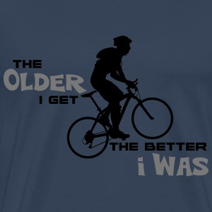 Bike Cycling Bicycle The Older I Get - Men's Premium T-Shirt