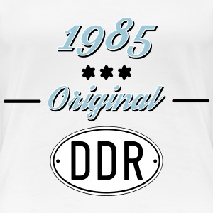 1985 Original DDR T-Shirts - Frauen Premium T-Shirt