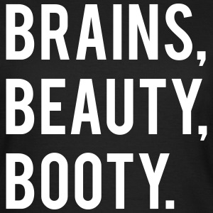BRAINS BEAUTY BOOTY - Women's T-Shirt