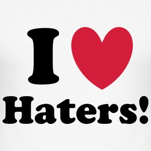 Haters T-Shirts - Men's Slim Fit T-Shirt