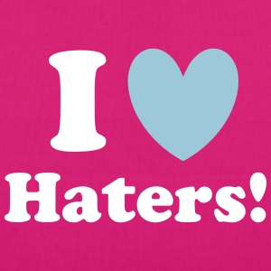 Haters Bags & Backpacks - EarthPositive Tote Bag