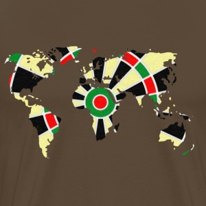 World dartboard T-Shirts - Men's Premium T-Shirt