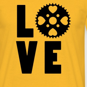 Love to Bike - Men's T-Shirt