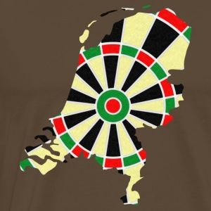 Holland dartskive T-shirts - Herre premium T-shirt