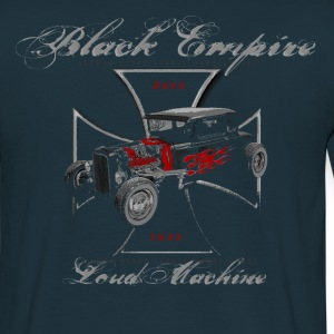 Black Empire Loud Machine  (front & back) - Männer T-Shirt