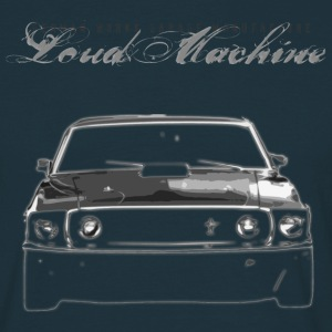 Loud V8 Machine - Männer T-Shirt