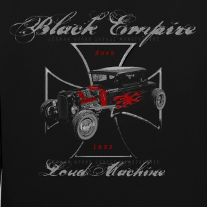 db-one loud Machine red Hot Rod Garage - Kontrast-Hoodie