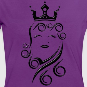 Princess - Frauen Kontrast-T-Shirt