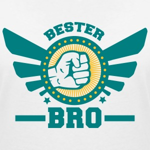 bro 1_2c T-Shirts - Women's V-Neck T-Shirt