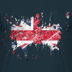 splatter england - Men's T-Shirt