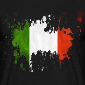 splatter italy - Men's T-Shirt