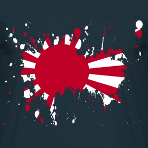 splatter japan - Men's T-Shirt