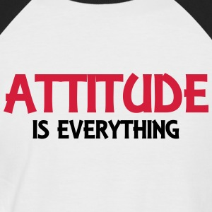 Attitude is everything Tee shirts - T-shirt baseball manches courtes Homme