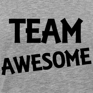Team Awesome T-shirts - Premium-T-shirt herr