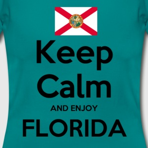 Keep Calm and enjoy Florida Shirt - Frauen T-Shirt