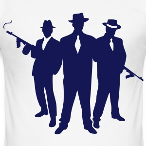 Mafia Gangster T-Shirts - Men's Slim Fit T-Shirt