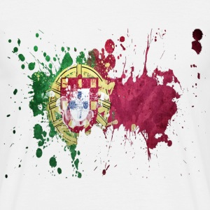 splatter portugal - Men's T-Shirt